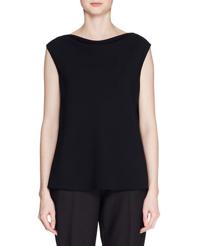 Shella High-Neck Sleeveless Top
