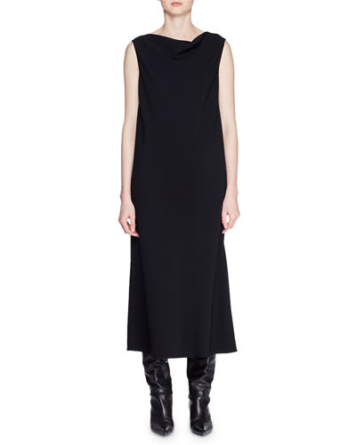 3c5264d2b521a Quick Look. THE ROW · Bella Boat-Neck Sleeveless Long Shift Dress