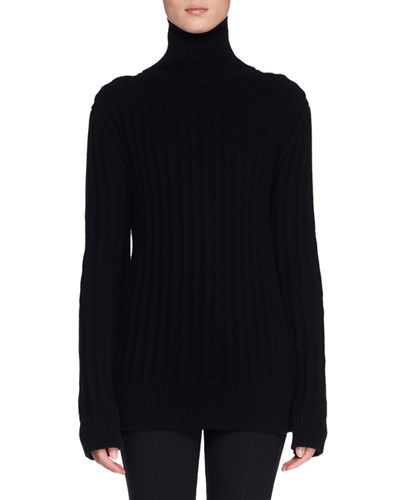 Marton Turtleneck Long-Sleeve Cashmere Sweater