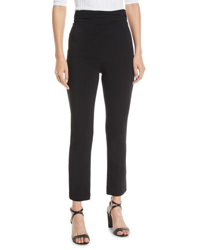 19f58ace63 High Waist Fitted Pants | Neiman Marcus