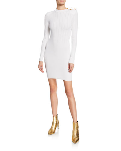 5fe43bf9 Balmain Back Zip Dress | Neiman Marcus