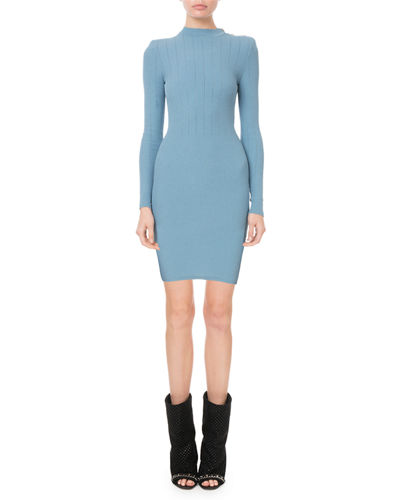 3b81778e Balmain Blue Dress | Neiman Marcus
