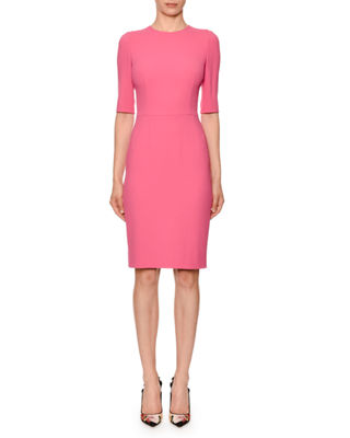 Blush Sheath Dress