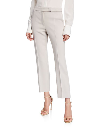 4b7c23e5e529 Cropped Stretch Wool Pants