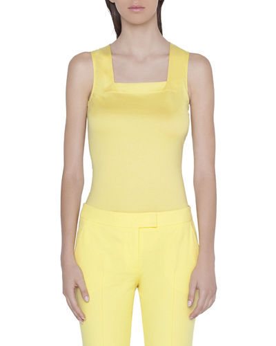 0a72bdd609045 Quick Look. Akris punto · Square-Neck Jersey Tank Top