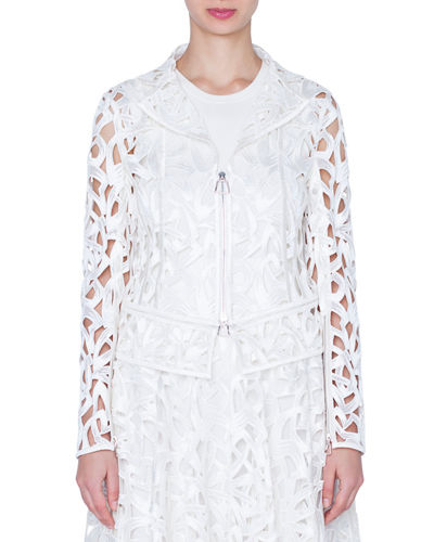 Amy Marker Embroidered Short Jacket