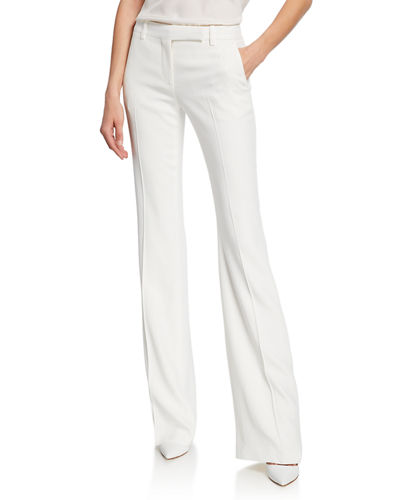 Leaf Crepe Classic Suiting Pants
