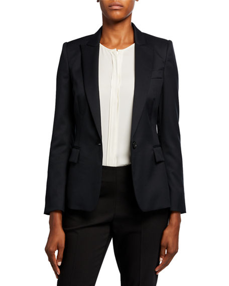 Stella McCartney Ingrid Classic Wool Tailoring Jacket