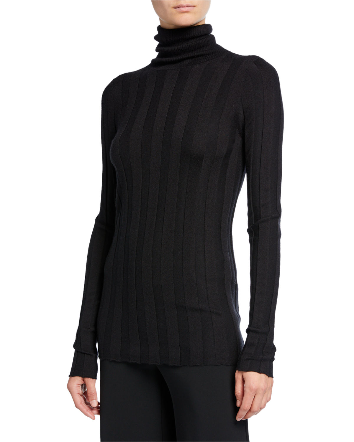 Derek Lam Sweaters INEZ CASHMERE-SILK TURTLENECK SWEATER