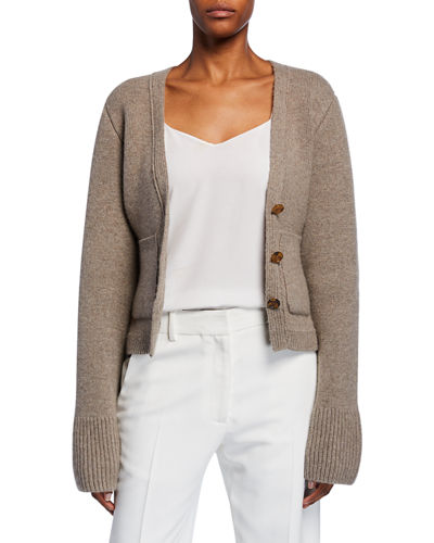 Scarlet Cashmere Cropped Cardigan