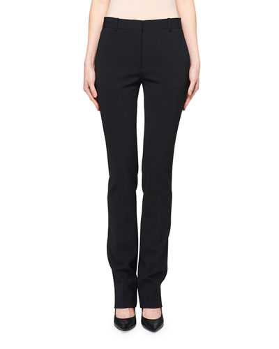 THE ROW Roosevelt Slim-Leg Wool Pants