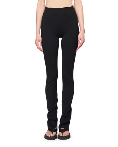 THE ROW Corza High-Rise Skinny Scuba Pants