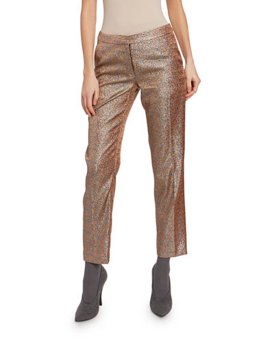 Sparkly Cropped Pants