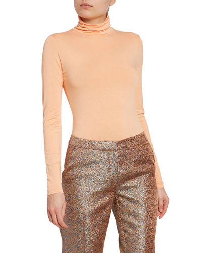 c069f8d47ac4d5 Fitted Turtleneck Top | Neiman Marcus