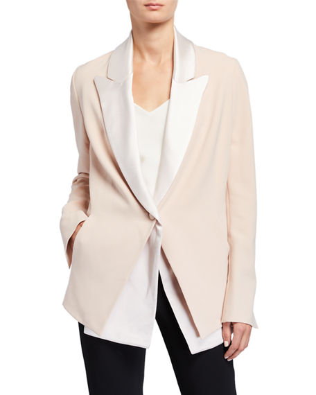 UNTTLD Adam Jacket with Removable Collar