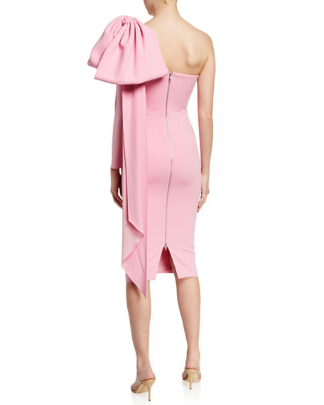 Alex Perry Wade One-Sleeve Dress