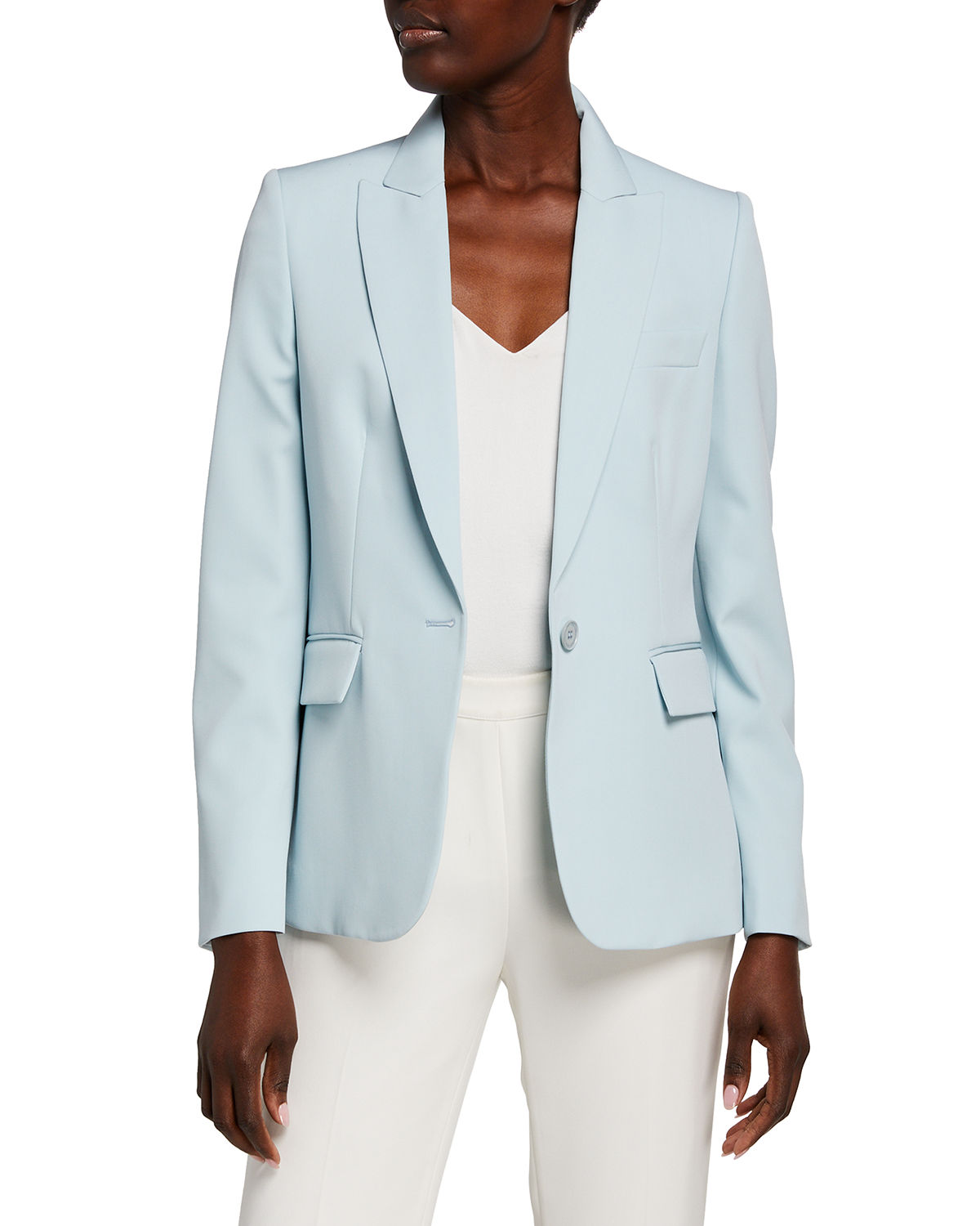 Stella McCartney Stretch Wool Tailored Jacket
