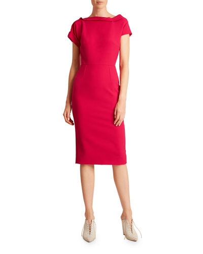 Bernin Crepe Dress