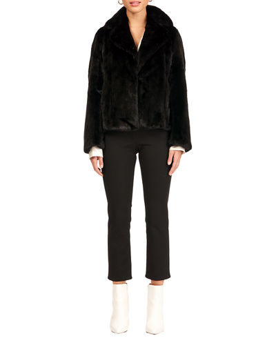 Gorski Mink Fur Vertical Jacket
