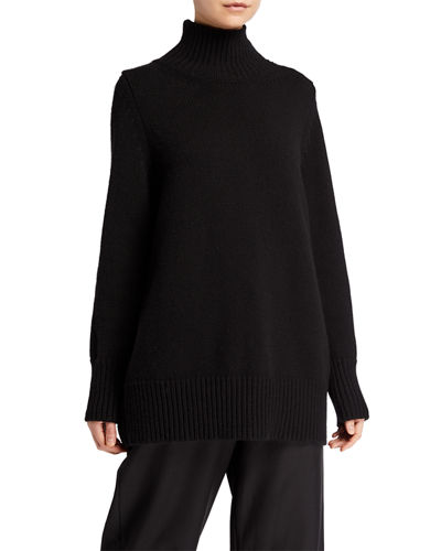 THE ROW Sadel Cashmere Turtleneck Top