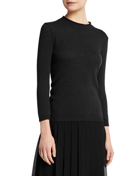 THE ROW Mesago Cashmere Fitted Sweater