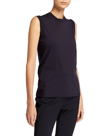 THE ROW Mani Cotton Sleeveless Top