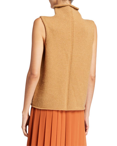 THE ROW Beriko Cashmere Sleeveless Sweater