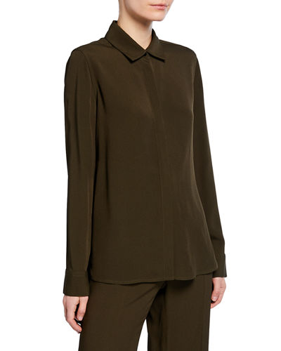 Rosetta Getty Apron Wrapped Shirt