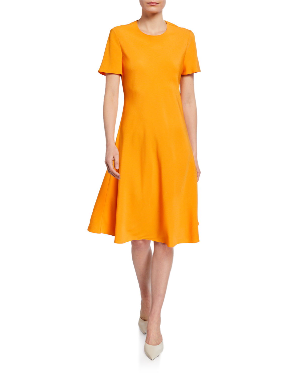 Rosetta Getty Dresses KEYHOLE BIAS T-SHIRT DRESS