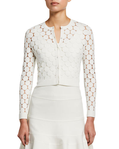 Dot Lace Bolero Jacket