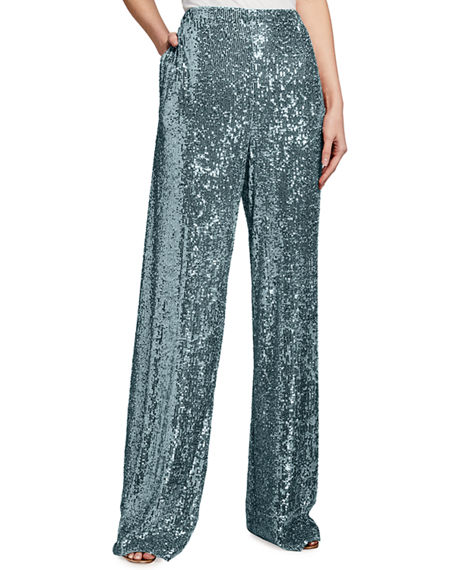 Naeem Khan Sequined Pants