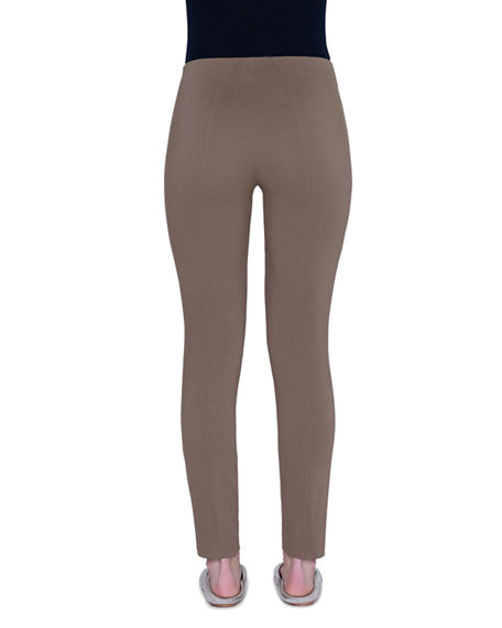 Image 2 of 3: Akris Melissa Techno-Stretch Slim-Leg Pants