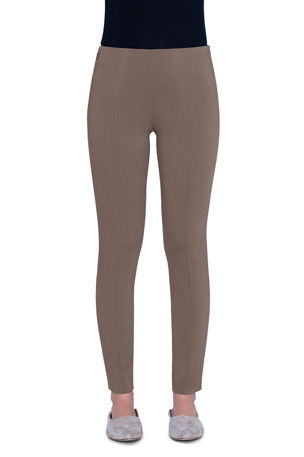 Akris Melissa Techno-Stretch Slim-Leg Pants