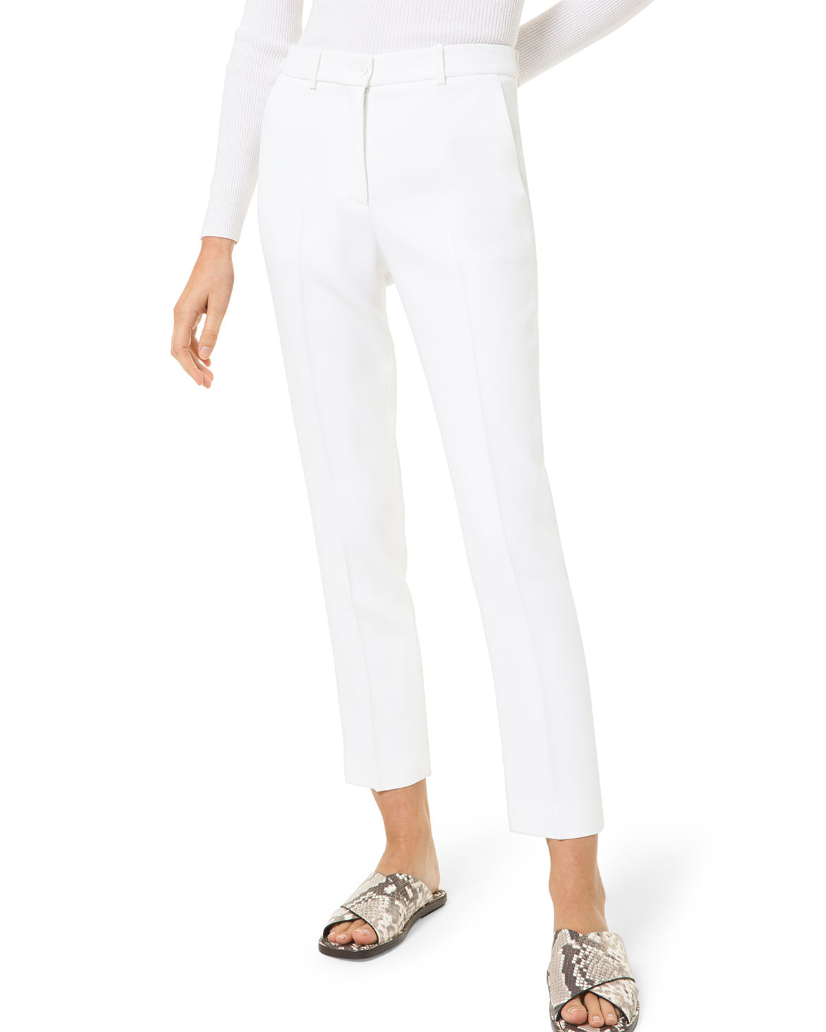 Michael Kors SAMANTHA SLIM-LEG PANTS