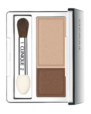 All About Shadow Eyeshadow Duo - Ivory Bisque/ Bronze Satin, Like Mink