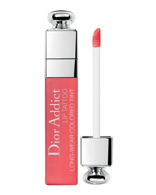 Addict Lip Tattoo Long-Wear Colored Tint in 451 Natural Coral