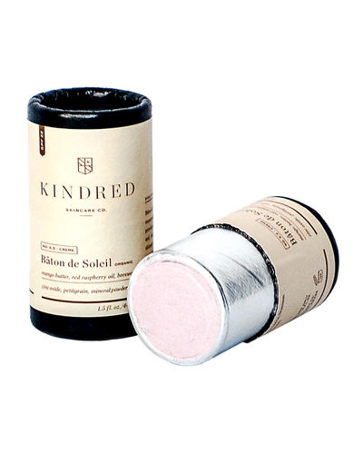 Kindred Skincare Co. Baton De Soleil Organic Stick Sunscreen SPF 22, 1.5 oz./ 44 mL