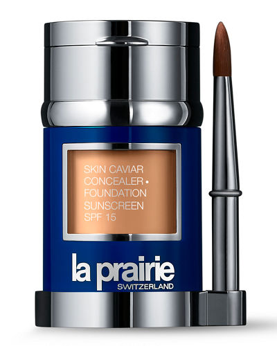 La Prairie Skin Caviar Concealer and Foundation Sunscreen SPF 15, 1.0 oz./30 ml