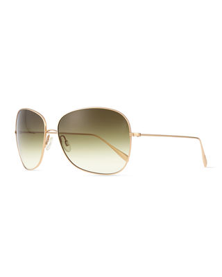 Oliver Peoples ELSIE LT WT METAL SUNGLASS