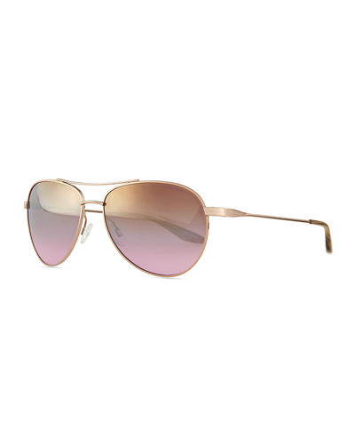 Universal Fit Lovitt Mirror Aviator Sunglasses