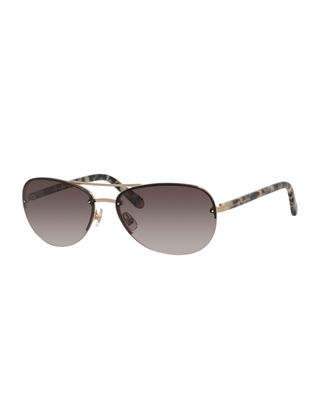 beryl small aviator sunglasses