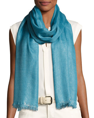 Duo Soffio Cashmere-Blend Evening Stole