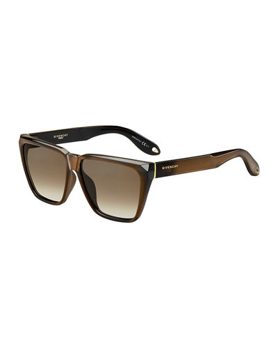 Square Flat-Top Sunglasses