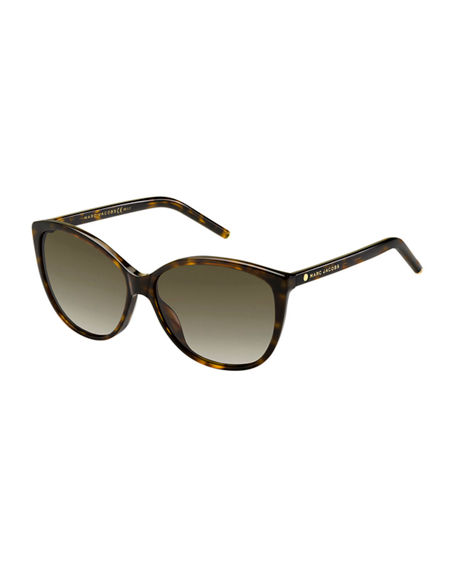 The Marc Jacobs Gradient Squared Cat-Eye Sunglasses