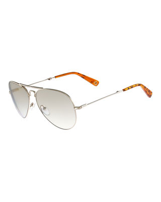 MCM FOLDABLE AVIATOR SUNGLASSES