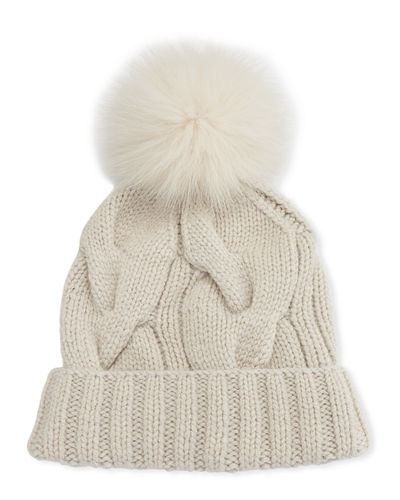 Loro Piana Baby Cashmere® Courchevel Beanie Hat