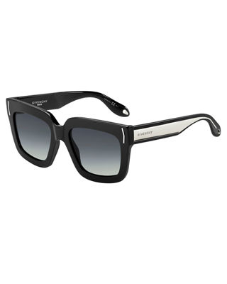 Square Metal-Band Sunglasses