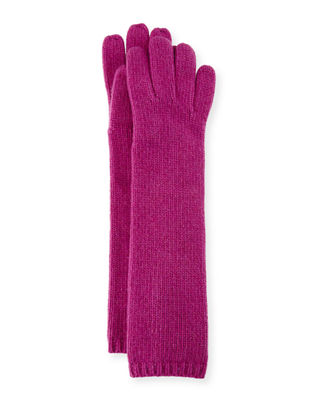 Portolano Long Cashmere Smart Gloves