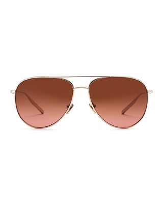 Francisco Polarized Aviator Sunglasses