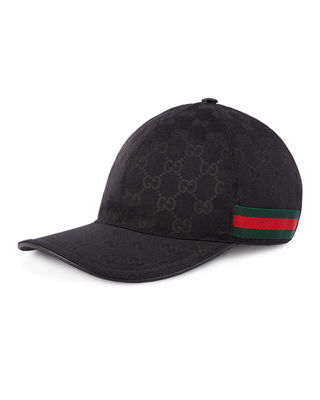 Men's GG Canvas Baseball Hat